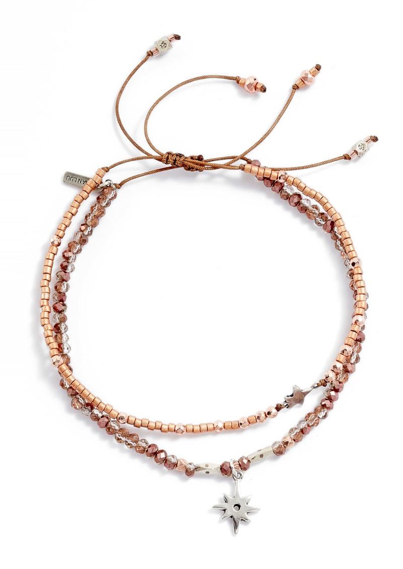 Chan Luu Set of 2 Adjustable Bracelets