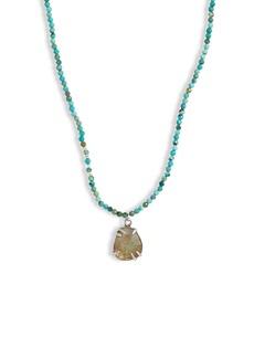 Chan Luu Short Semiprecious Stone Necklace