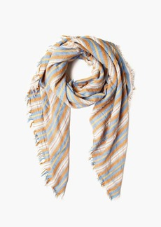Chan Luu Six Color Stripe Wool Scarf