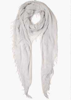 Chan Luu Solid Cashmere And Lurex Thread Scarf