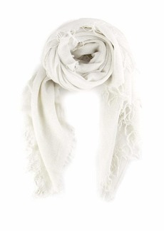 Chan Luu Solid Color Cashmere & Lurex Thread Scarf