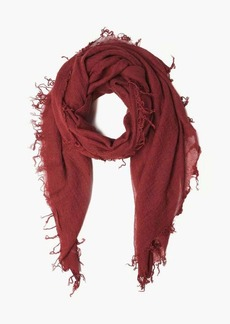 Chan Luu Solid Color Cashmere Silk Scarf
