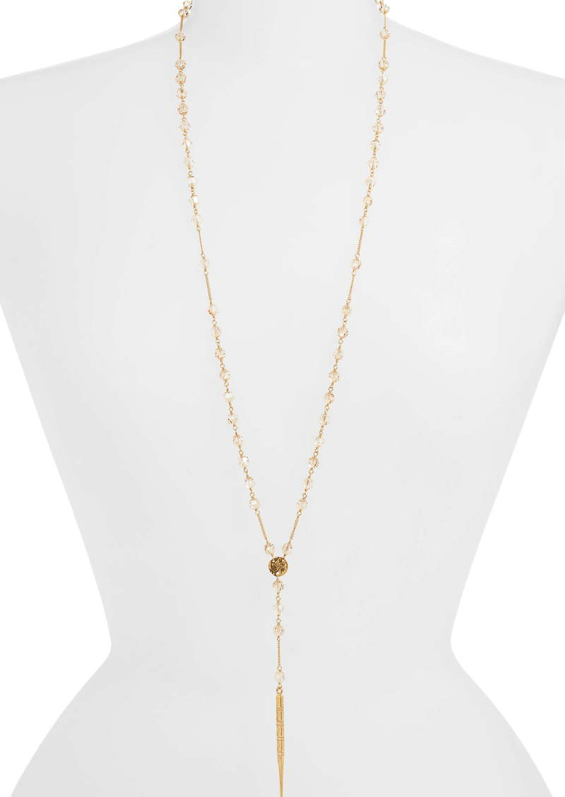 Chan Luu Spike Pendant Beaded Y-Necklace