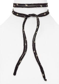 Chan Luu Star Printed Necktie