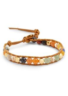 Chan Luu Stone & Crystal Leather Bracelet