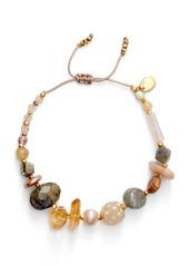 Chan Luu Stone & Pearl Bracelet
