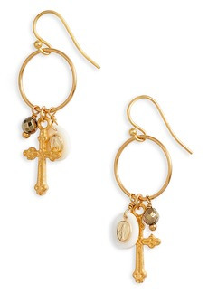 Chan Luu Stone Charm Earrings