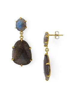 Chan Luu Stone Drop Earrings in 18K Gold-Plated Sterling Silver or Sterling Silver