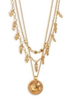 Chan Luu Triple Layered Necklace