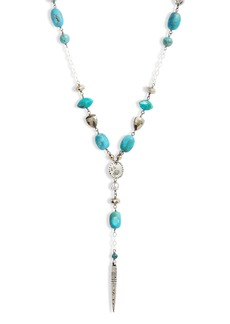 Chan Luu Turquoise Dagger Y-Necklace
