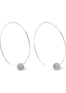 Chan Luu Woman Sterling Silver Labradorite Earrings Silver
