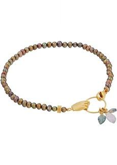Chan Luu Freshwater Pearl and Semi Precious Stone Bracelet