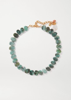 Chan Luu Gold-plated Multi-stone Necklace