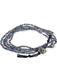 Chan Luu Iolite Naked Five Wrap Bracelet or Necklace