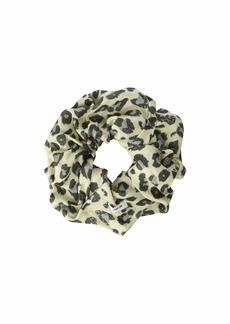 Chan Luu Leopard Print Scrunchie
