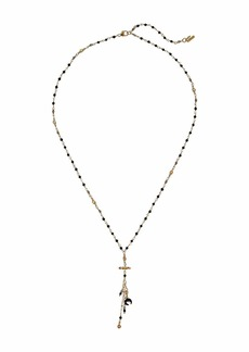 Chan Luu Mix Charm Short Layering Necklace