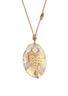 Chan Luu Moonstone Mix Stone Necklace