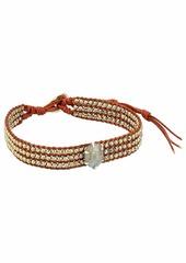 Chan Luu Pyrite Mix Single Wrap Bracelet