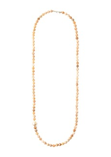 Chan Luu Semi-Precious & Barque Pearl Beaded Necklace