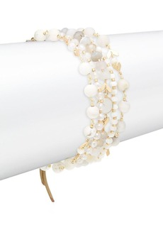 Chan Luu Semi-Precious Stone Stack Bracelet