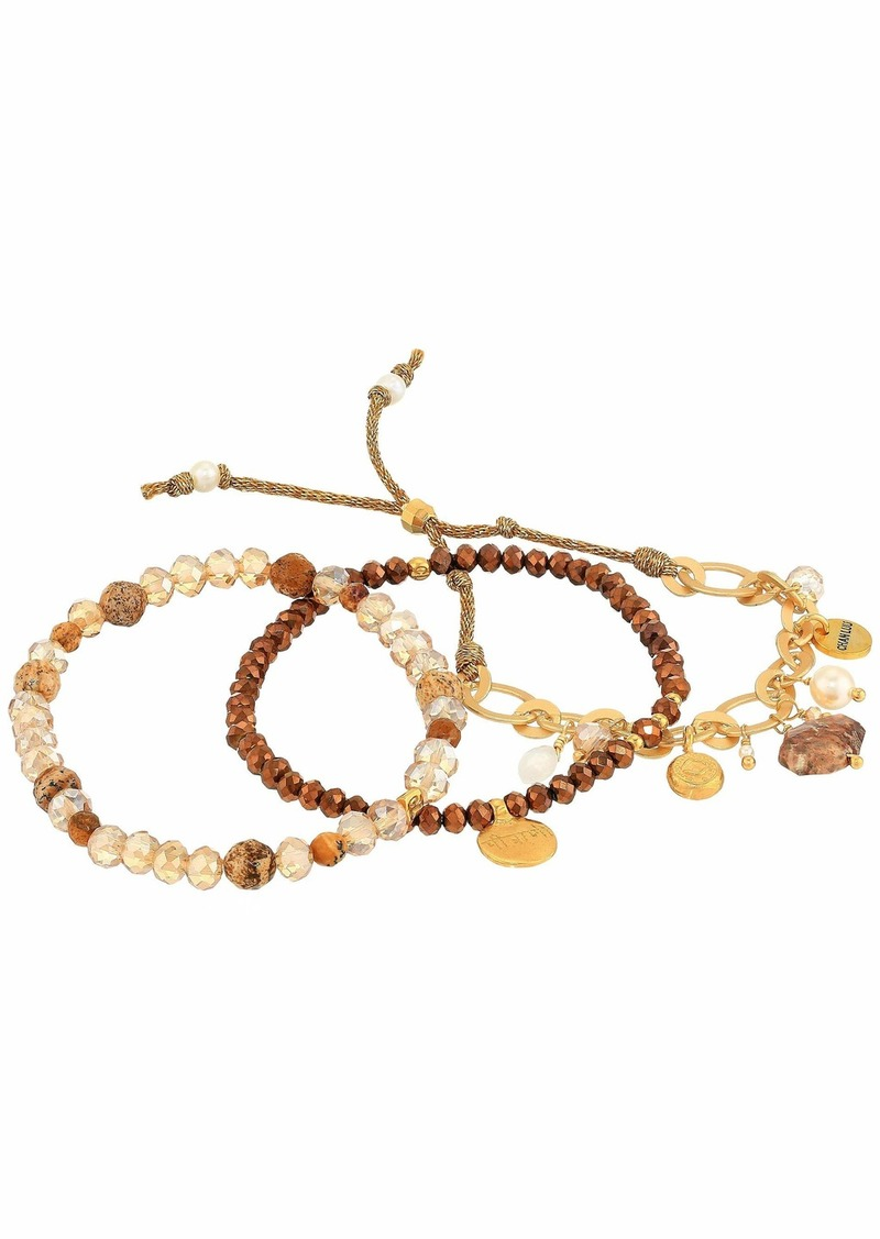 Chan Luu Set of 3 Stretch Gift Set Bracelets