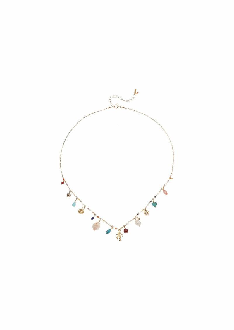 Chan Luu Short Adjustable Charm Necklace