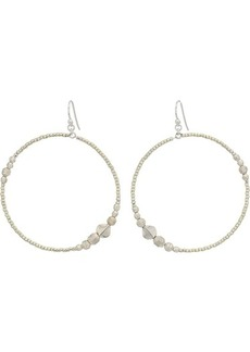 Chan Luu Silver Hoop Earrings