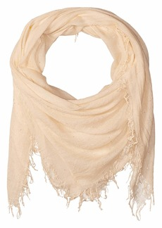 Chan Luu Solid Colored Scarf with Scattered Sequin