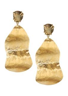 Chan Luu Sterling Silver & Copper Sheen Labradorite Drop Earrings