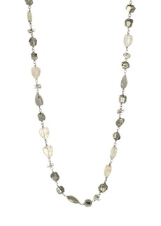 Chan Luu Sterling Silver & Multi-Stone Beaded Necklace