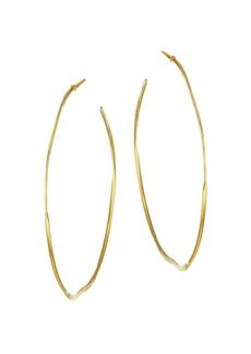 Chan Luu 18K Goldplated Sterling Silver Hoop Earrings