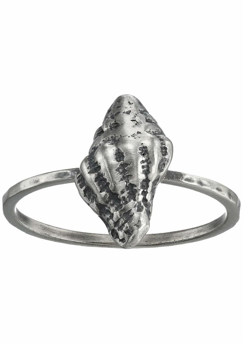 Chan Luu Sterling Silver Seashell Ring