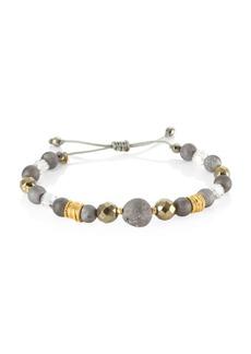 Chan Luu Swarovski Crystals & Sterling Silver Mix Bracelet