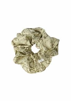 Chan Luu Voluptuous Snake Print Scrunchie