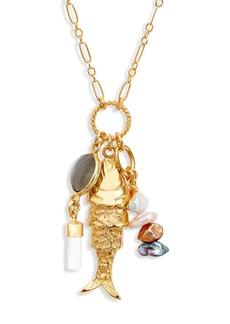 Women's Chan Luu Fish Pendant Necklace