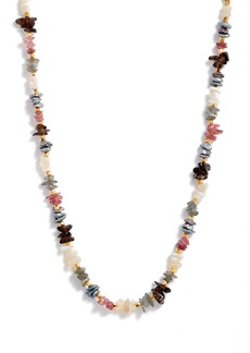 Women's Chan Luu Freshwater Pearl & Stone Beaded Necklace