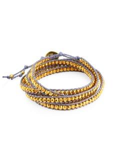 Chan Luu Yellow Gold Wrap Bracelet