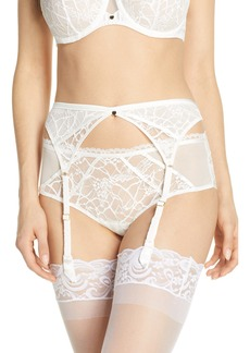Chantelle Intimates Segur Lace Garter Belt