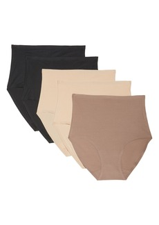 Chantelle Soft Stretch 5-Pack Seamless Briefs
