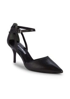 Charles David Aria Point Toe Leather Pumps