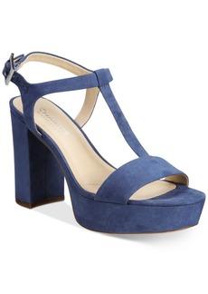 Charles by Charles David Miller T-Strap Platform Sandals Women's Shoes