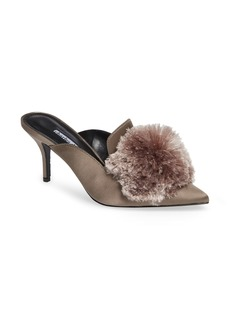 Charles David Adelle Pompom Loafer Mule (Women)