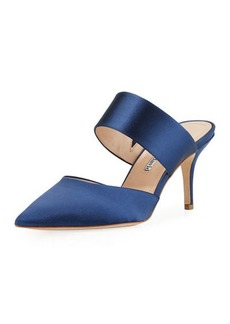 Charles David Amelie Two-Band Heeled Mule