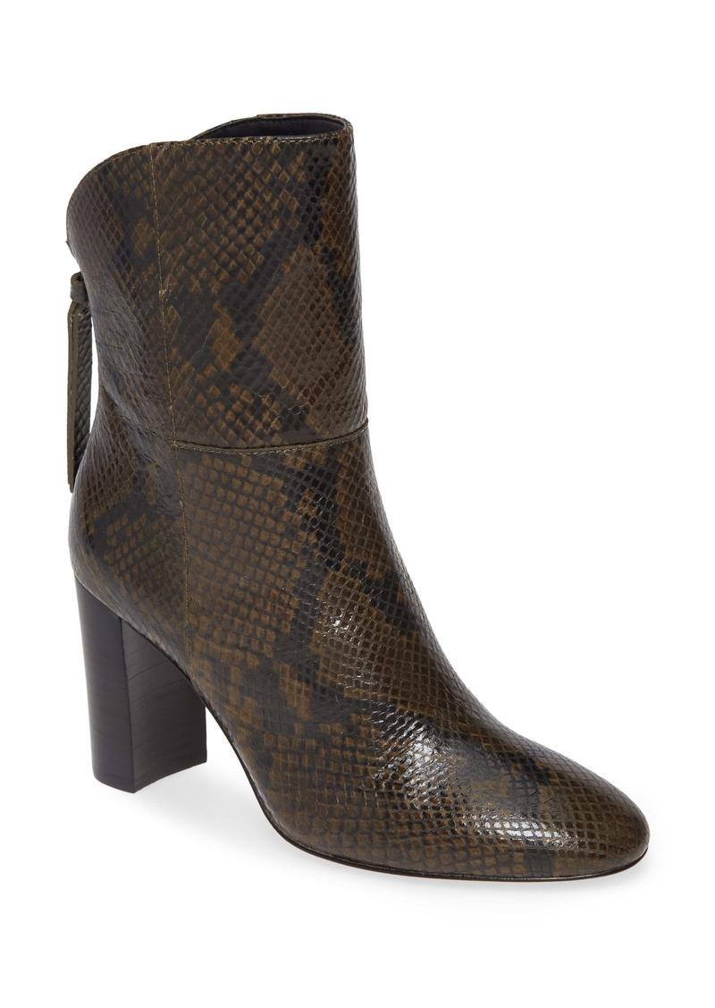 Charles David Billard Snake Embossed Boot (Women)