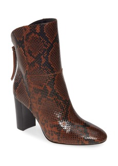 Charles David Billard Snake Embossed Boot (Women)