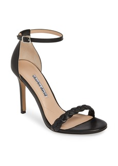 Charles David Camomile Braided Ankle Strap Sandal (Women)