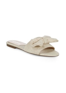 Charles David Canvas Bow Slides