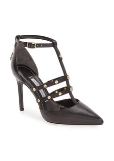 Charles David 'Carilla' T-Strap Studded Pump (Women)