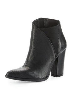 Charles David Charla Asymmetric Skived Leather Bootie