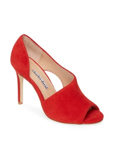 Charles David Congress Cutout Peep Toe Pump (Women)